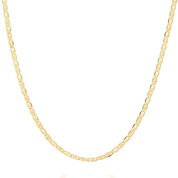 Cordão Rommanel Fita 50 Cm Feminino Fol.ouro Cod. 531156
