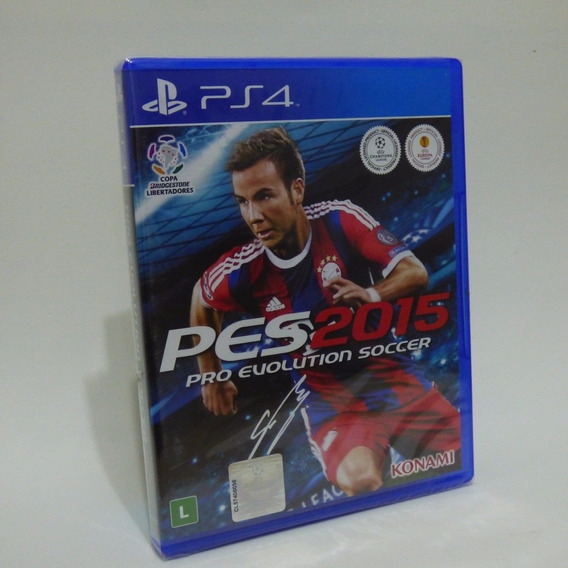 Jogo Pes 2015 - Playstation 4 - Ps4 - Totalmente Português
