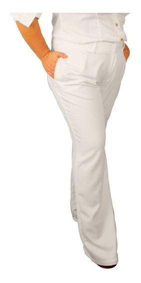 Calça Social Feminina Branca Do 34 Ao 52