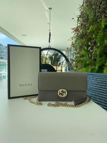 Bolsa Gucci Interlock Woc