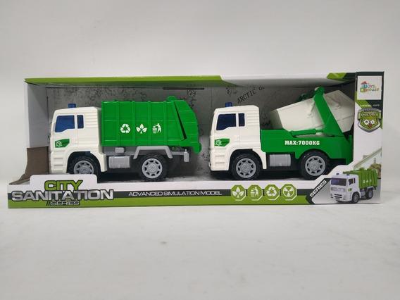 Camiones De Basura Friccion