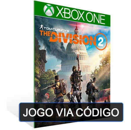 Tom Clancys`s The Division 2 -xbox One- Código De 25 Digitos