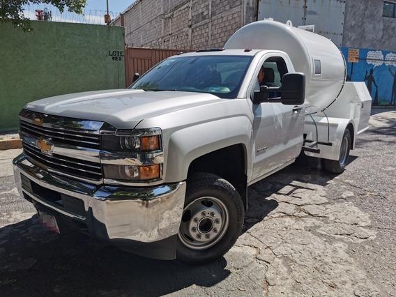 Chevrolet 3500 Pipa Gas Lp 4500 Lts, Lista Para Trabajar !!!