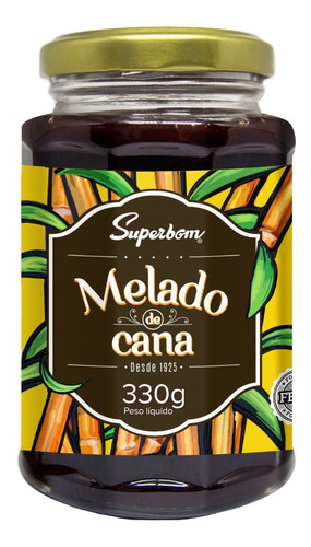 Melado Cana 330g - Superbom.
