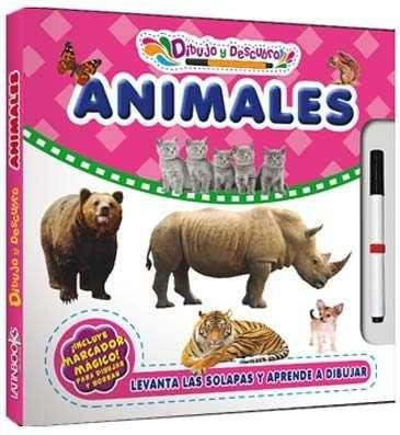 Animales Col Dibujo Y Descubro 3410 Cypres Latinbook
