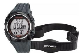 Relógio Masculino Mormaii Monitor Cardíaco Mo11558a/8r - Nf