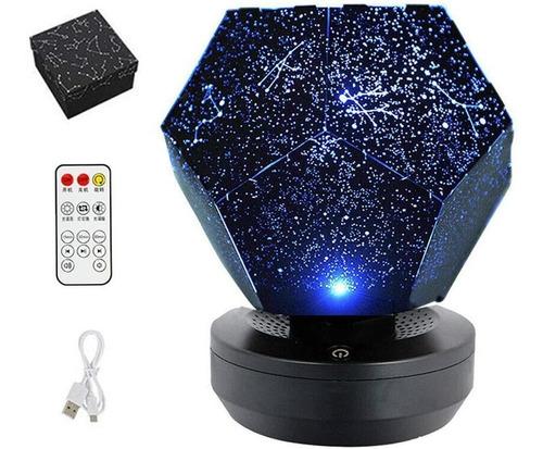 Galaxy Star Proyector De Luz Nocturna Led Giratoria 3
