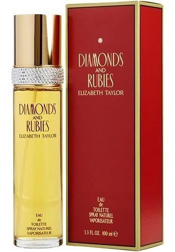 Perfume Elizabeth Taylor Diamantes Rubi - mL a $919