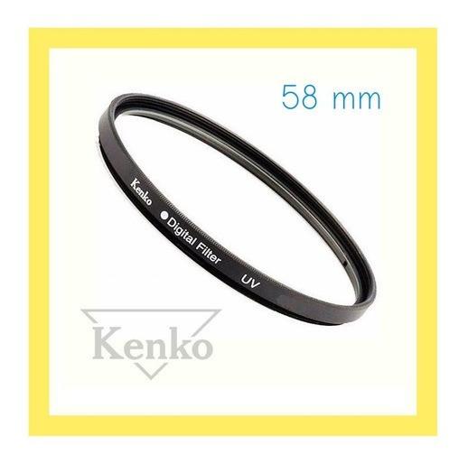 T6i - Filtro Lente 58mm Uv Kenko 18-55mm Camera Canon