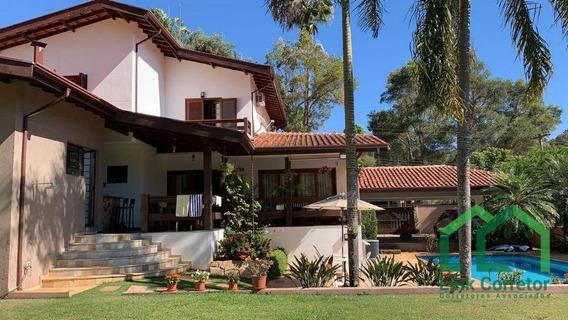 Casa Com 3 Dormitórios À Venda, 338 M² Por R$ 1.400.000 - Parque Jatibaia (sousas) - Campinas/sp - Ca0354