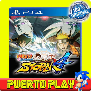 Naruto Sun Storm 4 Ps4 Digital / Sub Español / 1°