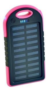 Cargador Solar Portatil Usb Celular Powerbank Waterproof