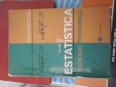 Livro Estatistica Instrução Programada Anna Maria Salgueiro