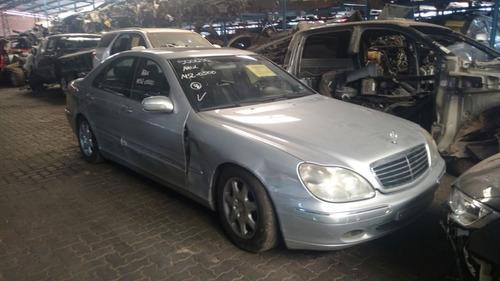 Sucata Peças Acessórios Mercedes Benz S500 2001