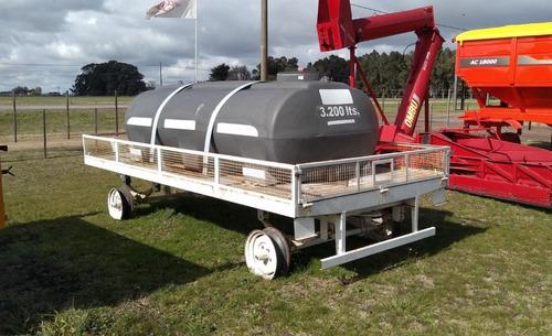 Acoplado Tanque Plástico Para Abastecimiento De Pulverizador