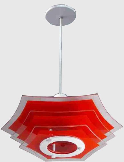 Lustre Plafon Pendente P/ Quarto, Sala, Cozinha Ou Banheiro