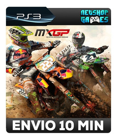 Mxgp - The Official Motocross Videogame - Psn Ps3 - Oferta