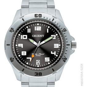 Relógio Orient Masculino Mbss1155a G2sx Prateado Original