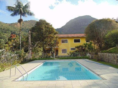 Casa À Venda, 480 M² Por R$ 1.200.000,00 - Iucas - Teresópolis/rj - Ca0175