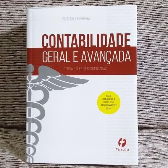 Frete Grátis Livro Contabilidade Avançada Ricardo Ferreira