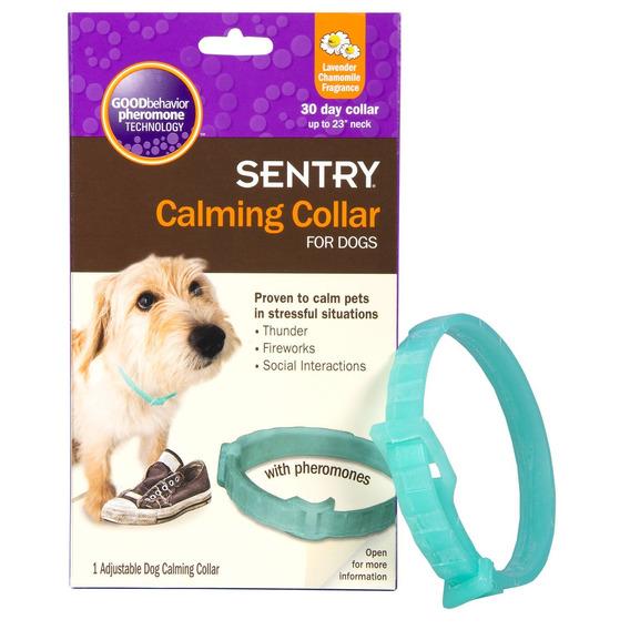 Sentry Calming Collar For Dogs, Azul, 1-paquete