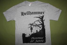 Gusanobass Playera Rock Metal Hellhammer Black Death Med