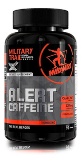Alert Cafeinne (90caps) Military Trail Original