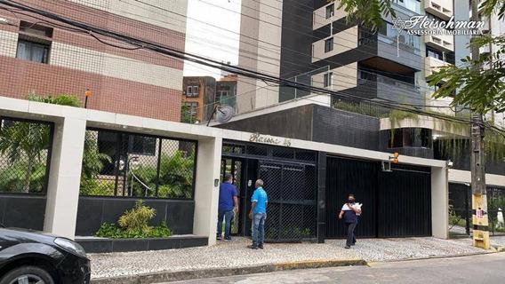 Apartamento Com 3 Dormitórios À Venda, 120 M² Por R$ 590.000,00 - Parnamirim - Recife/pe - Ap1662