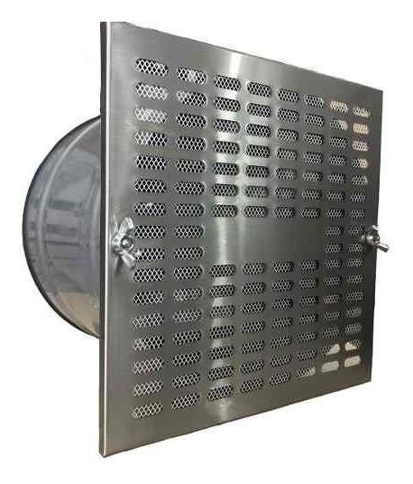 Extractor De Aire De 20 Cm Cosina- Baño De Acero Inoxidable