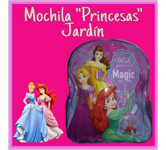 Mochila Jardin Infantil Pony Princesas Dory Minions