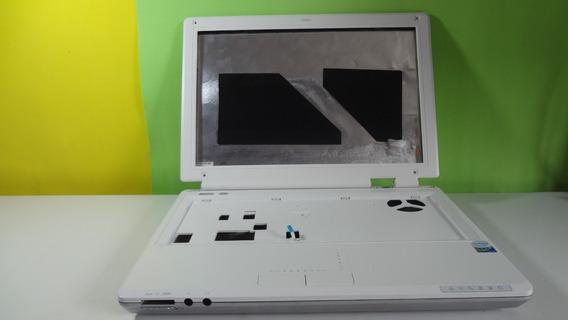 Carcaça Completa Do Notebook Epcom H12y Original