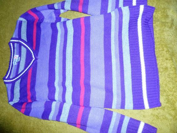 Suéter Vintage Niña Talla 12 R-15$ Excelente Estado C/new