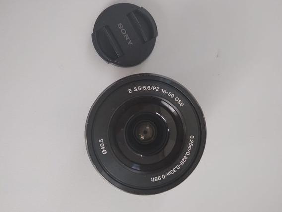 Lente Sony 16-50mm Oss E 3.5-5.6