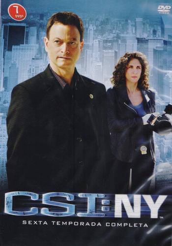 Csi Ny New York Sexta Temporada 6 Dvd