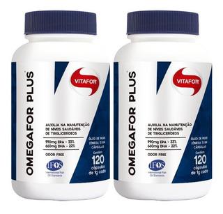 Kit 240 Caps De Omegafor Plus - Vitafor