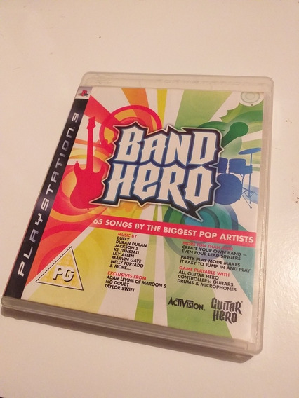 Band Hero: The Biggest Pop Artists Ps3