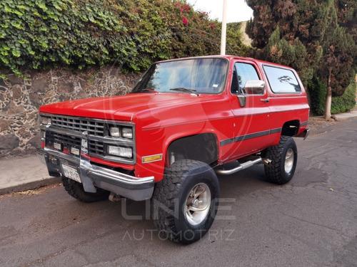 Chevrolet Blazer 4x4 V8