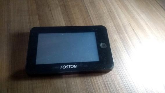 Gps + Tv + Câmera Foston Fs-433dv - Com Suporte