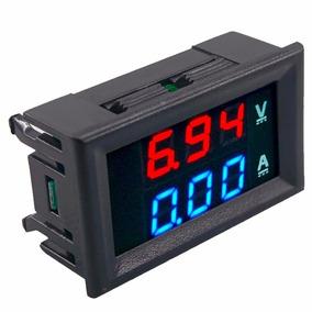 Voltimetro Amperimetro 0 À 100v 10a - Dual Display Led