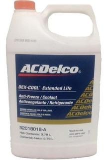 Refrigerante Acdelco Dex Cool Galon Original Naranja 50/50