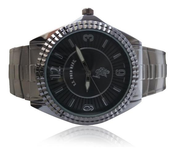 Relógio Polo Usc 80028 Gunmetal Com Frete Grátis