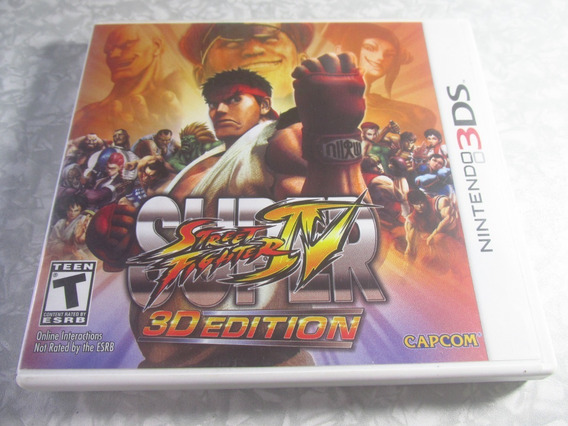 3ds - Super Street Fighter - Original