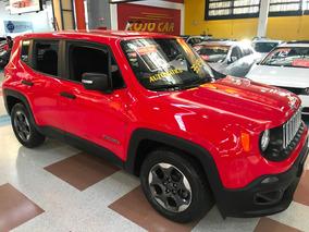 Jeep Renegade Sport Automatica Vermelha 2016 Flex