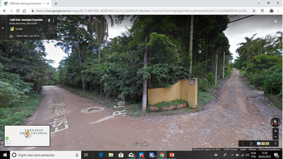 Terreno Embu Das Artes Próximo Ao Centro
