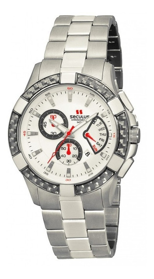 Relógio Seculus Masculino Chronograph 48042g0sgna1= 32