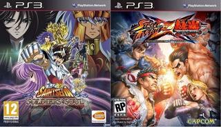 Saint Seiya Soldiers Soul + Street Fighter X Tekken ~ Ps3