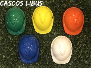 Casco Libus Con Arnes Plastico Simple