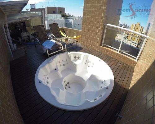 Imagem 1 de 30 de Cobertura Com 2 Dormitórios À Venda, 138 M² Por R$ 1.280.000,00 - Saúde - São Paulo/sp - Co0057