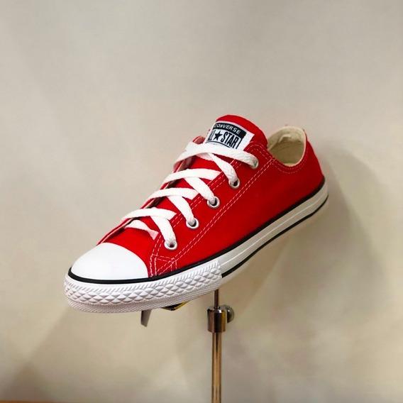 Tênis All Star Infantil Vermelho Unissex Original - Att