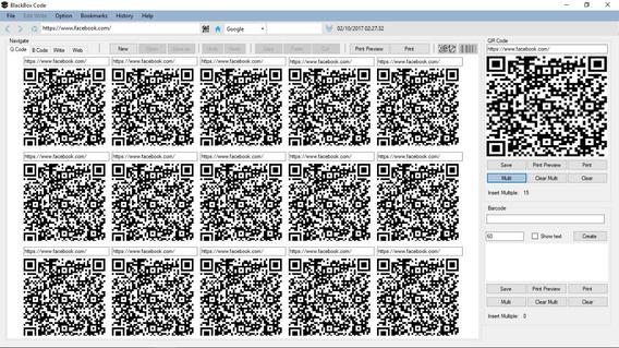 Software Gerador De Qrcode E Código De Barras Editor E Web
